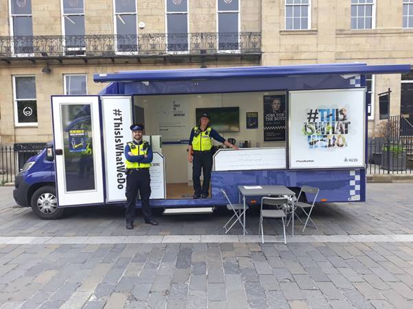 Northumbria Police - Scheme in Newcastle City Centre