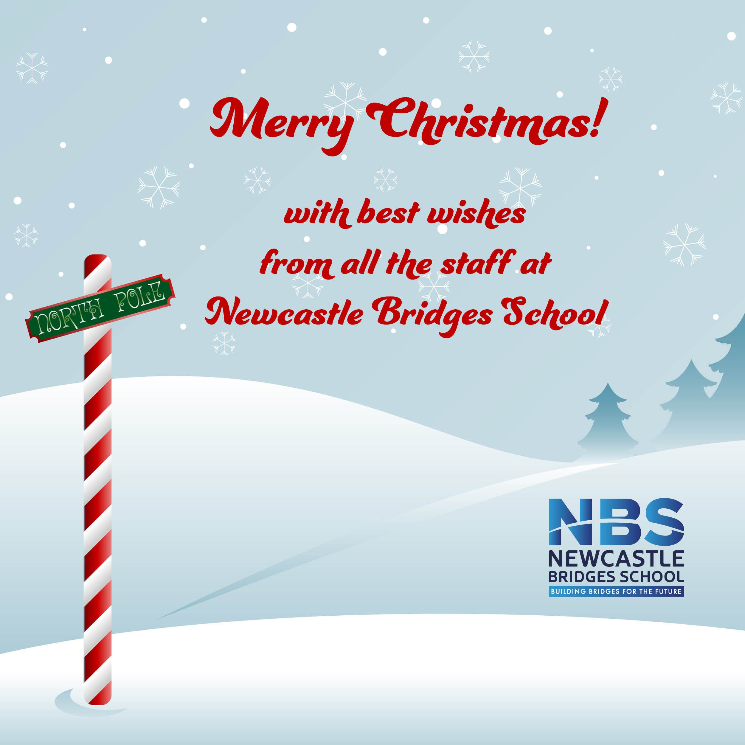 Merry Christmas from Newcastle Bridges School!