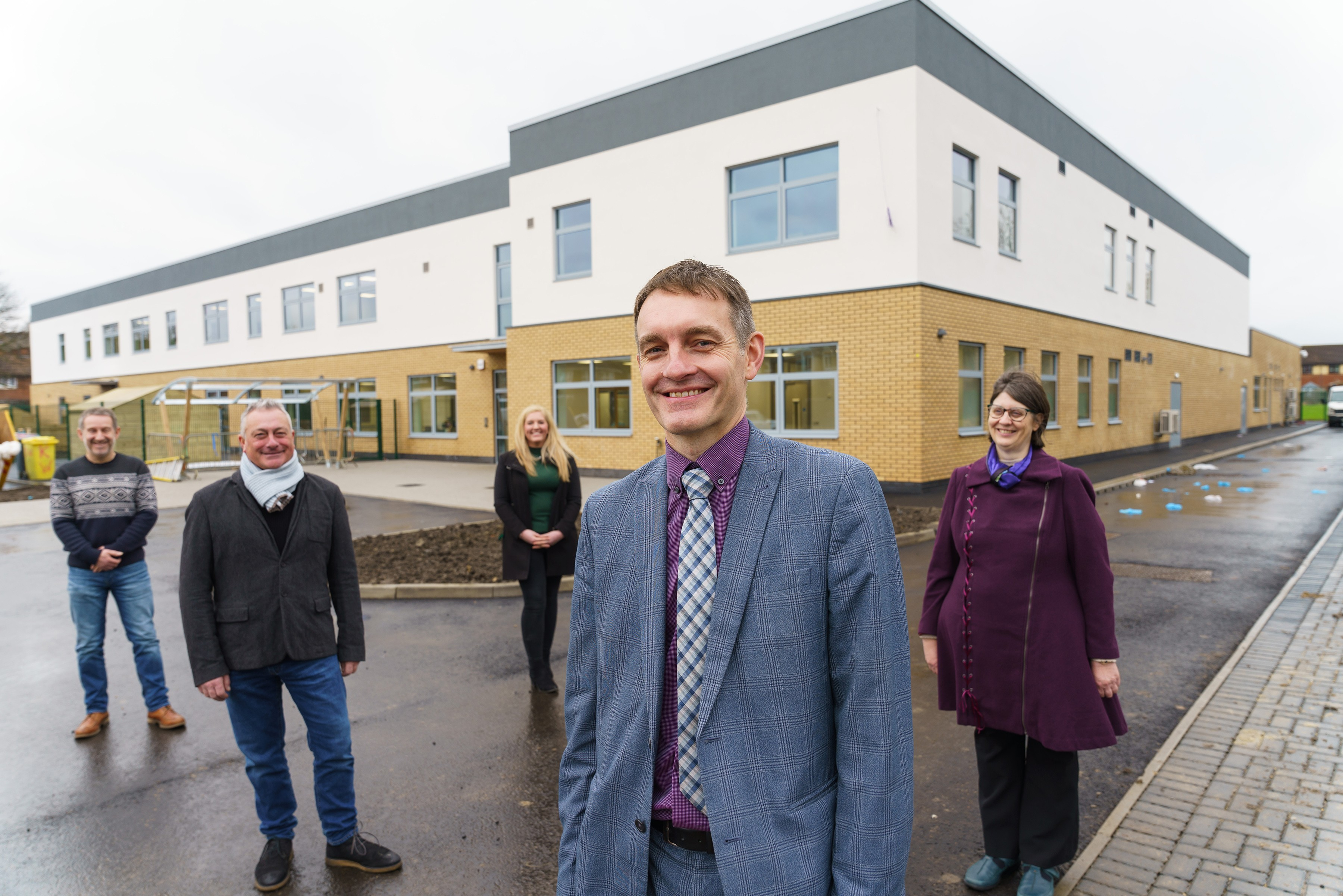 New School Building for Harry Watts Academy