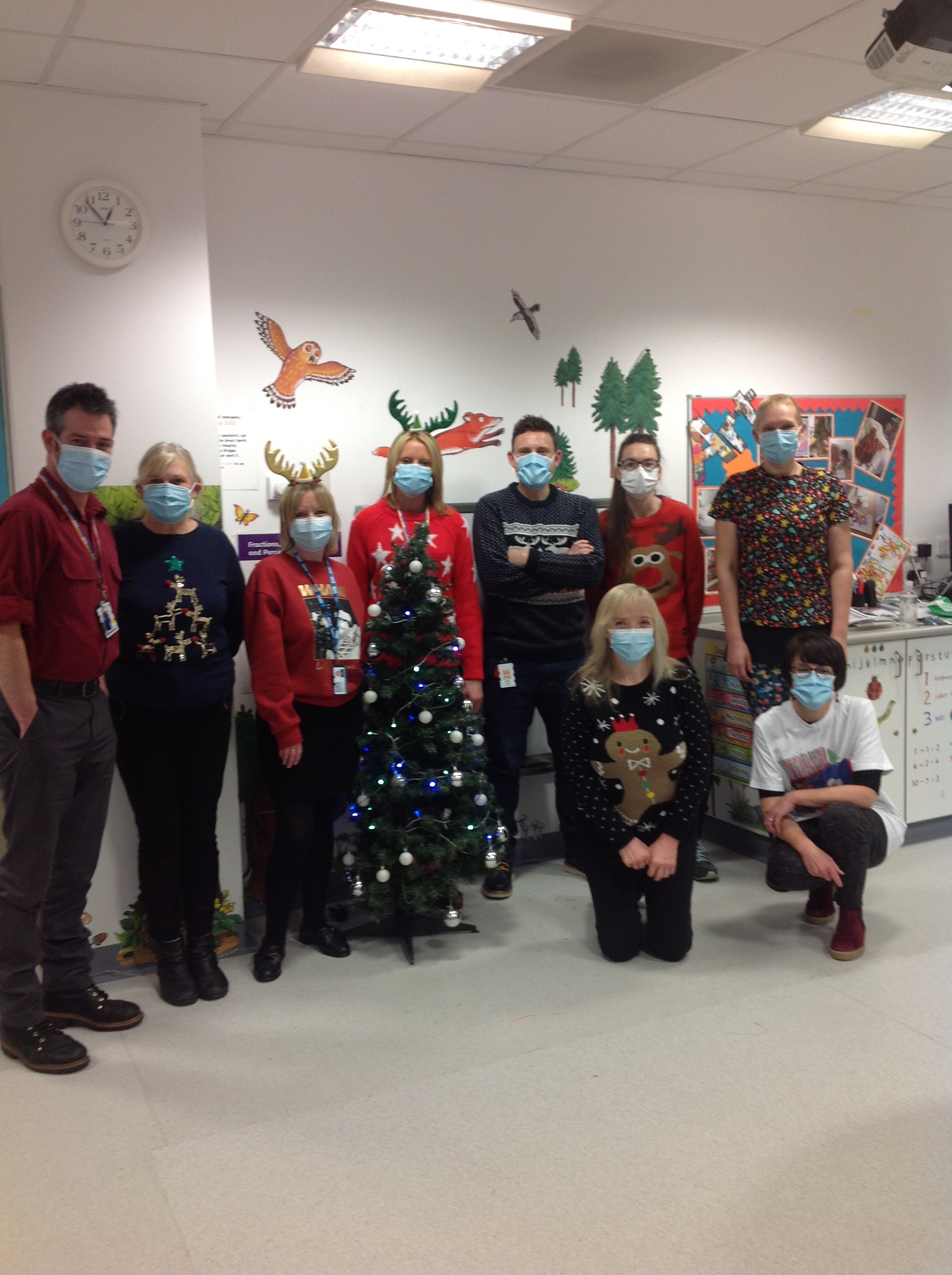 Merry Christmas from Our Lovely Team at the GNCH