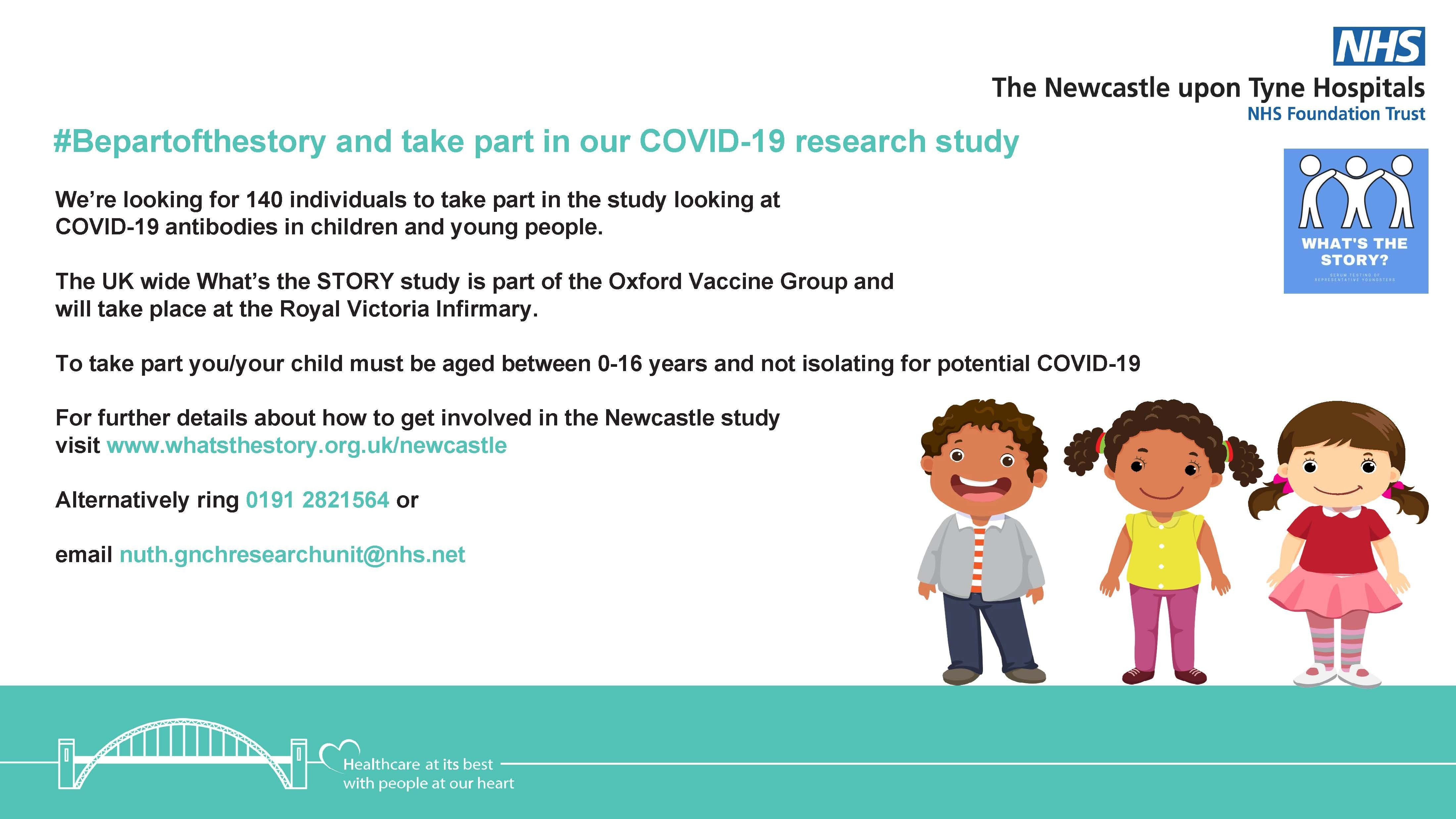 Take Part in our COVID-19 Research Study