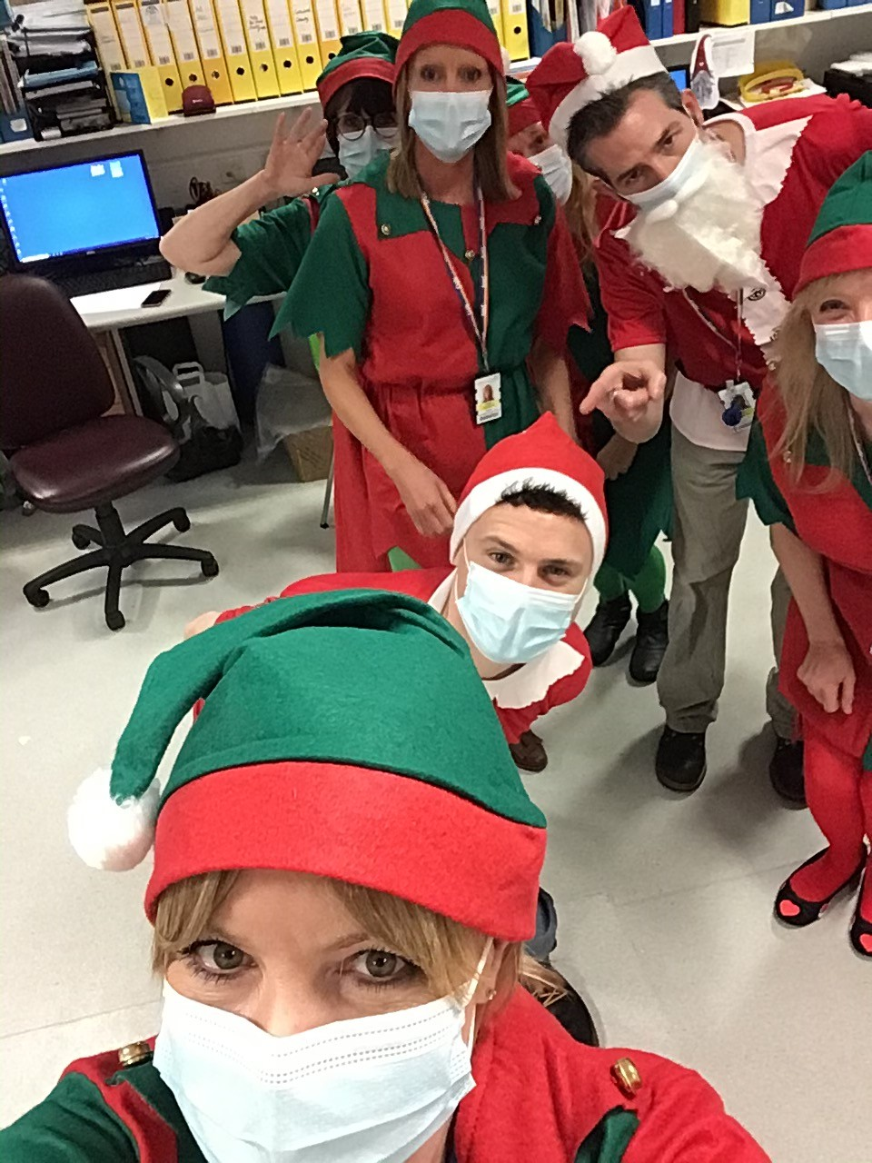 Christmas on the wards
