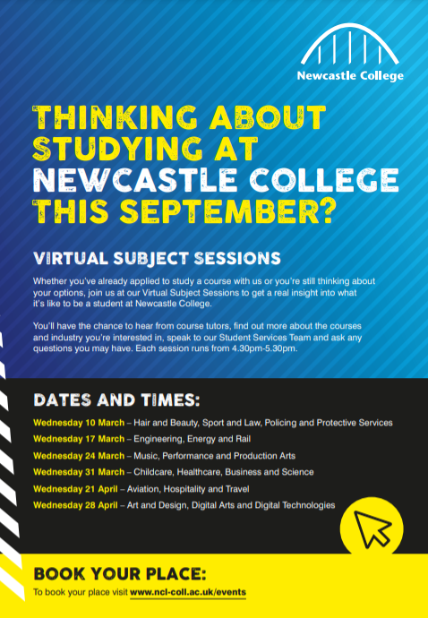 Virtual Subject Sessions